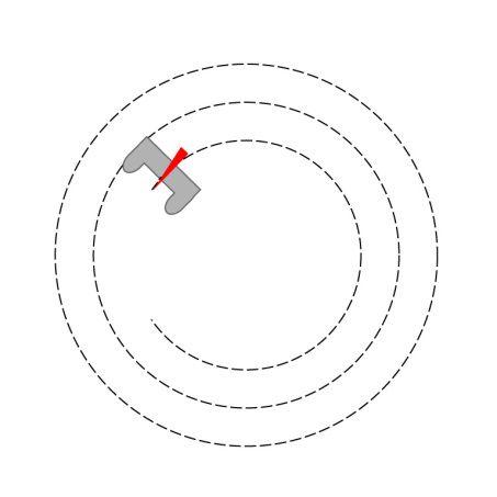 Apprendre à piquer droit, en angle, en arrondi