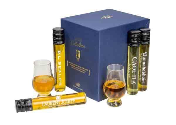 Le coffret Spirit Collection V&B #spiritueux #whisky #rhum #cognac #vodka #gin
