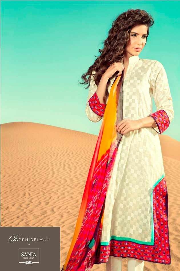 Sapphire debut lawn collection by Sania Maskatiya. Shot is Dubai. Love all of them. Would be hard to choose one.