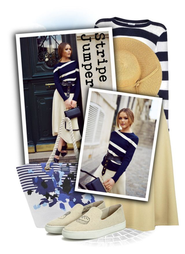 """SPLENDID Stripe Jumper"" by tasha1973 ❤ liked on Polyvore featuring Splendid, Boohoo, Joules and Soludos"