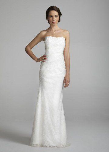 David's Bridal Wedding Dress: Strapless Linen Burnout Fit to Flare Gown Style 875218, Ivory, 12 David's Bridal,http://www.amazon.com/dp/B008KIBYWC/ref=cm_sw_r_pi_dp_5SFGsb06B03CZWGE