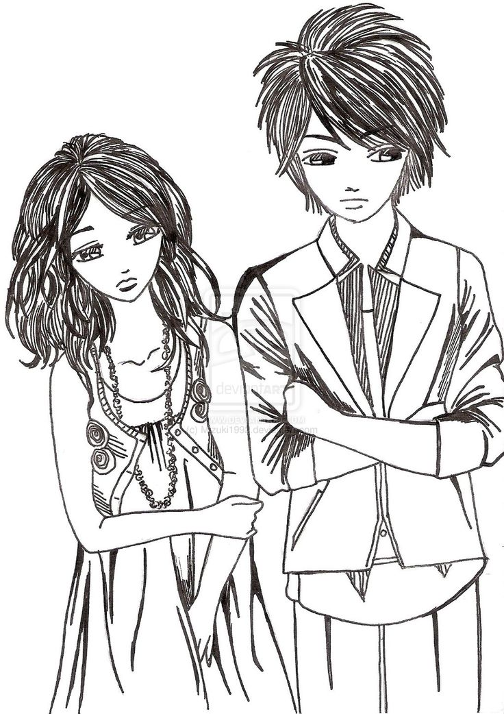 51 Best Images About Cute Couple Drawing On Pinterest | Forehead Kisses Couple Drawings And ...