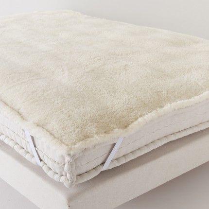 Surmatelas en peau lainée