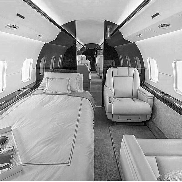Travel in style onboard the Global Express private jet built by Bombardier Aerospace  Photo via @classyprivatejets  #bombardier #globalexpress #privatejet #businessjet #luxury #aviation #travel #style #superyachtlifestyle