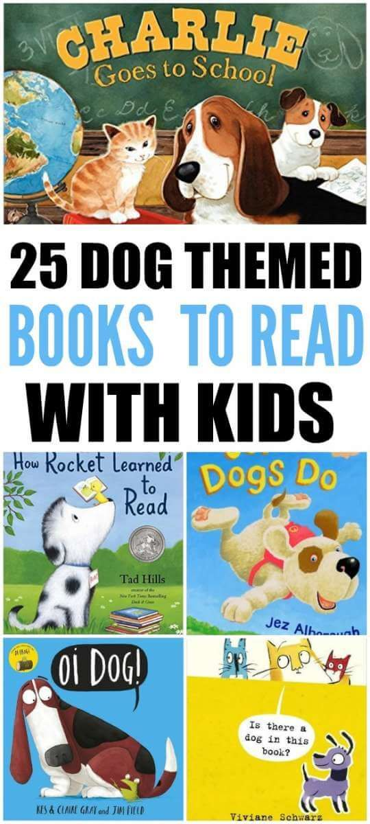 There are plenty of Dog themed books for kids. Here is a list of the top 25 Dog books that children will love. Come check out...