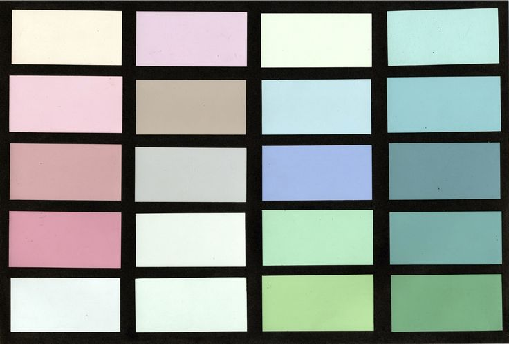 Miami Beach Color Palette, Created by MDPL's Leonard Horowitz