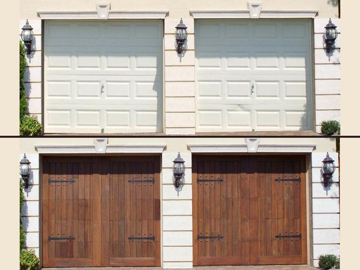 Garage Door Refacing Panels