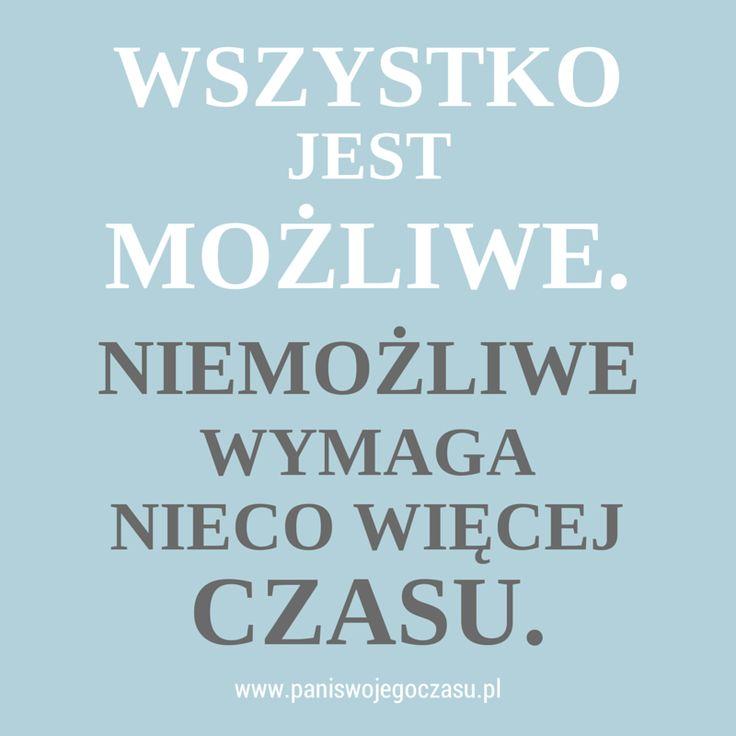 O tym, żeby w planach sięgać daleko www.paniswojegoczasu.pl
