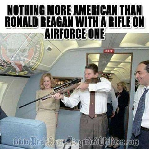 "Ronald Reagan, a true American ~ ""The right to self-defense doesn't stop at the end of your driveway. That's why I have a concealed carry permit and why tens of millions Americans do too. That permit should be valid in ALL 50 states."" Donald J. Trump ~ RADICAL Rational Americans Defending Individual Choice And Liberty"
