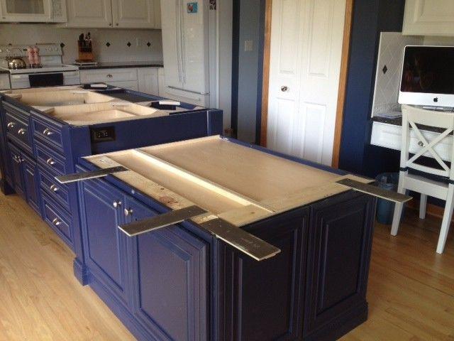 Kitchen Island Granite Overhang 48 best island supports images on pinterest | kitchen ideas