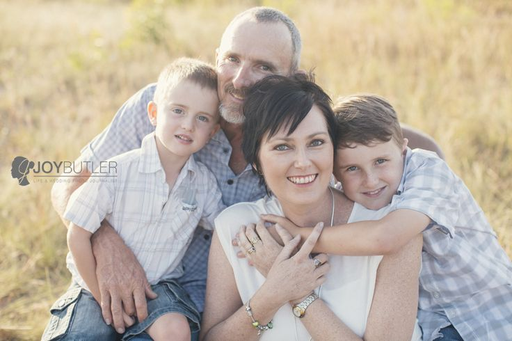 Therase Fauvel a cancer fighter in her latest family photo shoot.