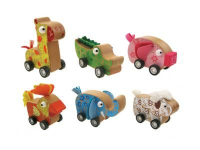 Wooden Pull Back Animals - $6.50 These gorgeous Wooden Animals are a big hit at our house Pull back & they zoom away fast!! Available in 6 different animals Aprx 10cm long 18mths +