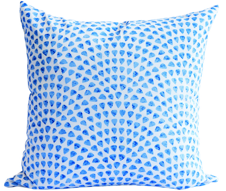 Water Droplet Scatter Cushion by Phlo Studio. 60cm x 60cm. From R300.00. Shop online at www.phlostudio.co.za . For orders outside South Africa email us at info@phlostudio.co.za