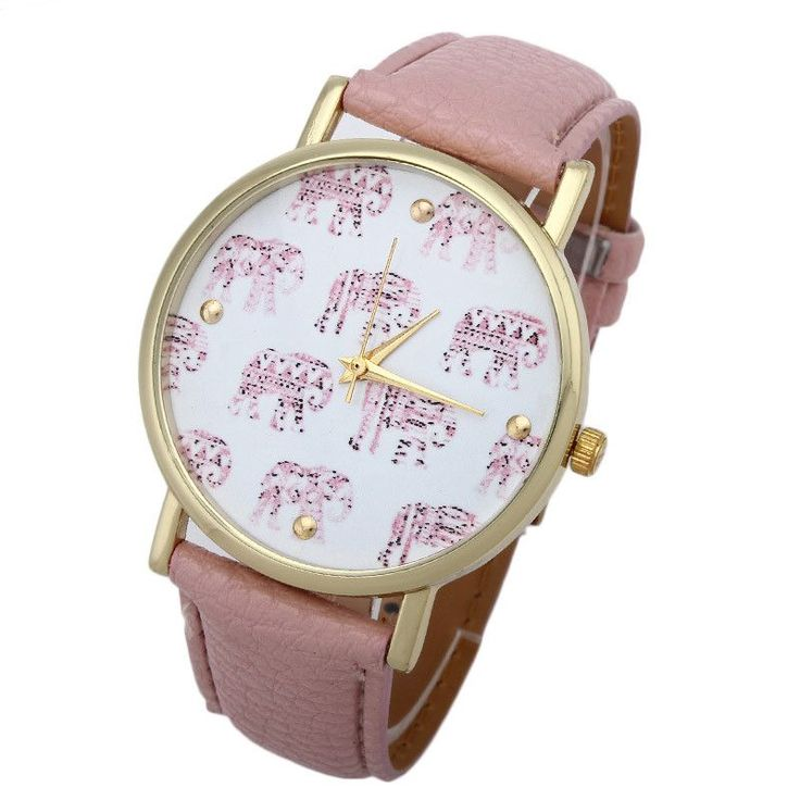 Resuli Women Elephant Pattern Faux Leather Band Analog Quartz Dial Watch dress watches horloges vrouwen Dropshipping & Wholesale