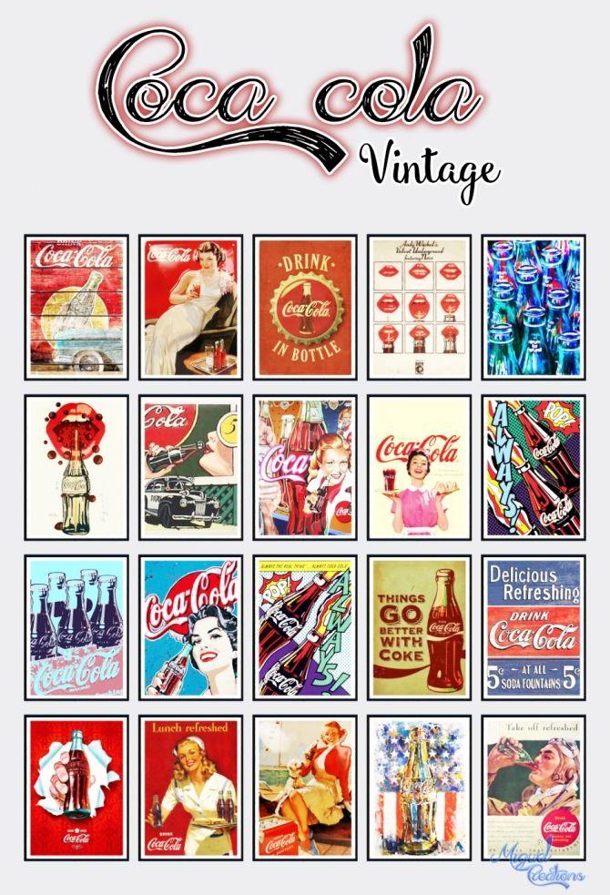 Cola Vintage at Victor Miguel via Sims 4 Updates