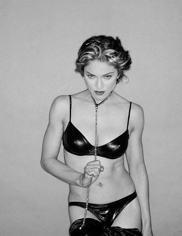 Pop Singer Madonna Nude