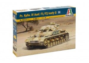 Carro armato  Pz. Kpfw. IV Ausf. F1/F2 early G scala 1:35