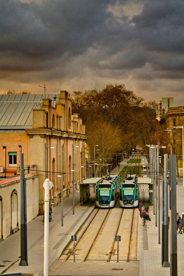Tram, Barcelona