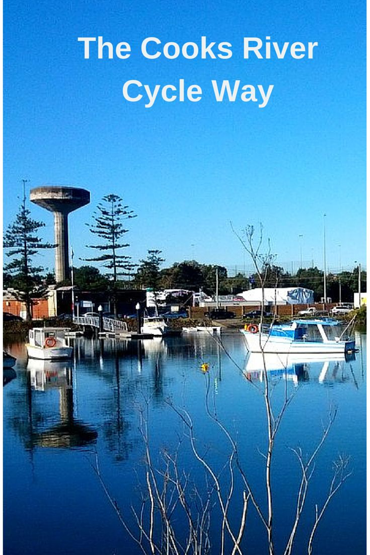 The Cooks River Cycle Way: Sydney, Australia