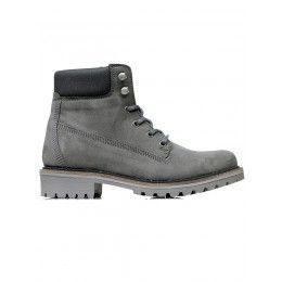 Vegan mens dock boots in grey by Wills London