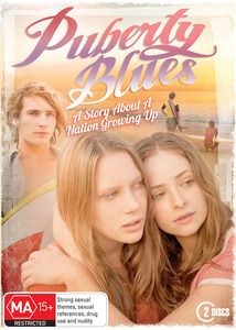 Puberty Blues DVD. Bringing this Australian classic to life, Puberty Blues tells the story of two girls, Debbie and Sue, of innocence lost and experience gained against the backdrop of Australia in the 1970s. The eight-part series moves beyond the original pages and explores the (mis) adventures of these young girls, their families and friends in a tumultuous if not romantic era of Australias history. $19.99