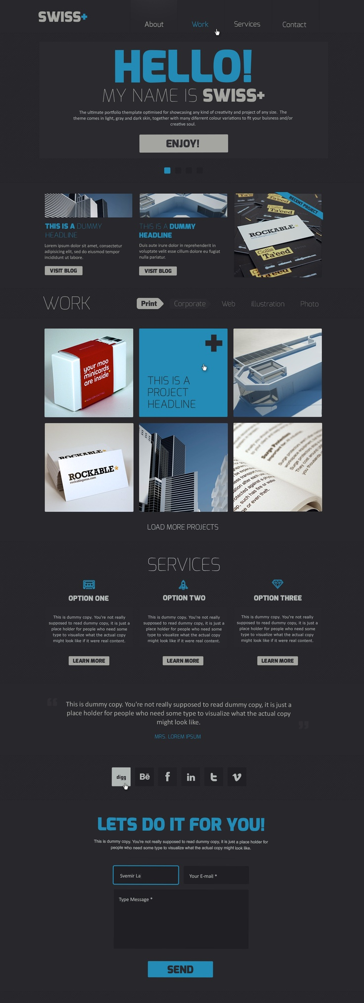 230 best PSD Website Templates images on Pinterest | Psd templates ...