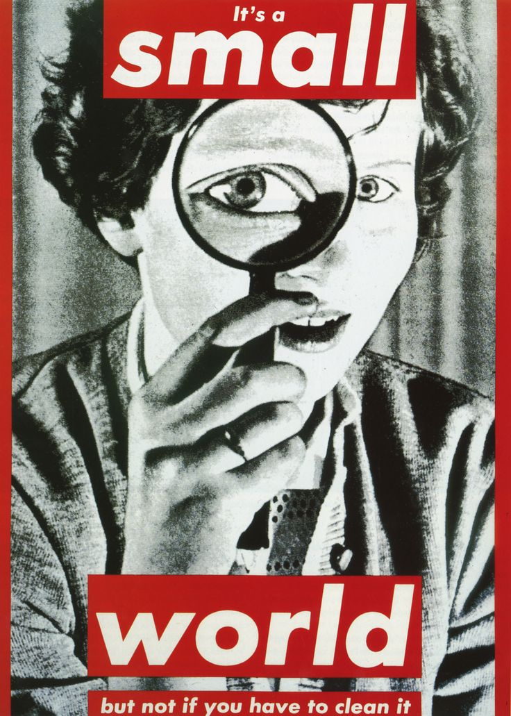 barbara kruger essay Free essay: feminism and political issues: barbara kruger and hannah höch feminism and political issues have always been centered on in the art world and.
