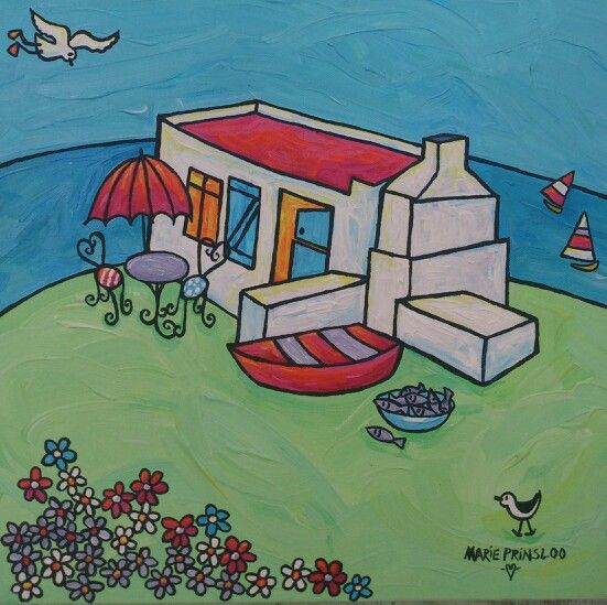 """Lagoon Joy"" by Marie Prinsloo (for sale at Bay Gallery,Langebaan)"