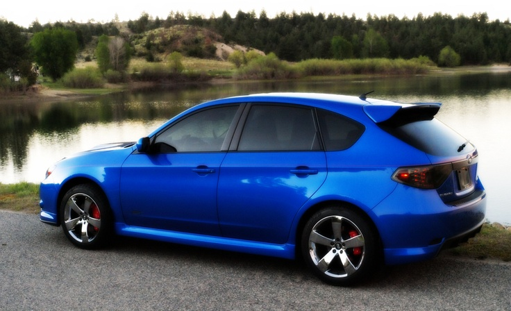 This is my 2009 Subaru WRX....Many,many, upgrades....very fast! I live in Montana where I actually get a chance to have some high speed fun....