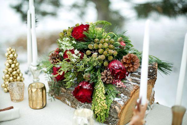 деревенский стол зима возлюбленной