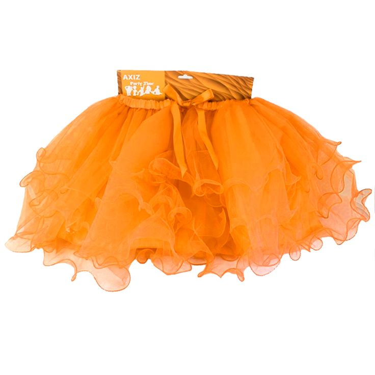 Hens Party Tutu - Orange Tutus are the perfect Hens night accessory! Gorgeous layered and lined Orange Tutu for the Bride To Be, or get one for all the girls to really make an impression! Team with...