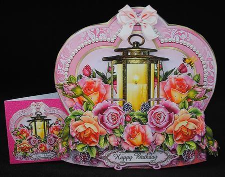 Light up Your Life Lantern Shaped Card Kit