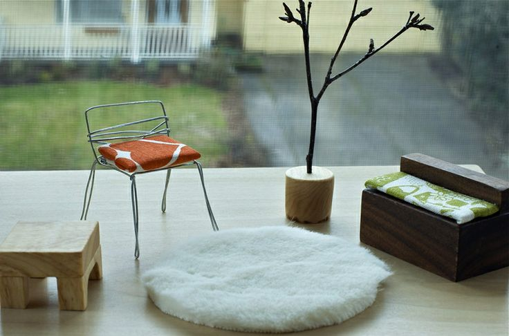 1000 images about puppenhaus on pinterest dollhouses doll houses and vintage dolls. Black Bedroom Furniture Sets. Home Design Ideas