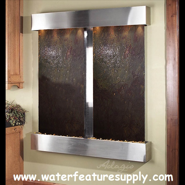This Outdoor Cottonwood Falls Hanging Fountain Will Transform Your Home. My  Family Is So In · Wall Water ...