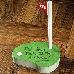 Hot new product added -  18th Hole Notepad - http://ponderosa.co/b1001/18th-hole-notepad/