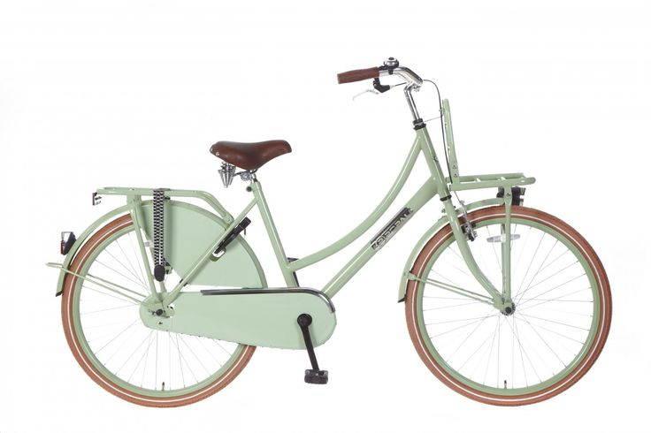 Bicicleta holandesa Daily Dutch Basic 26 verde menta