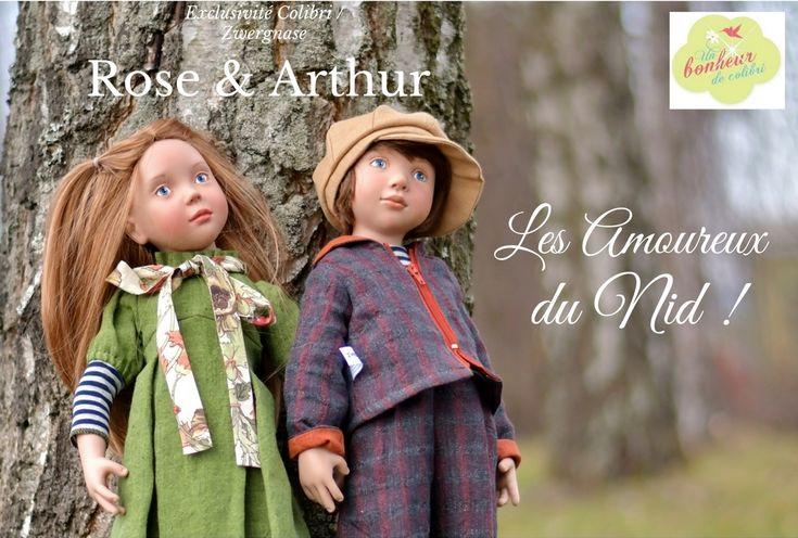 Rose et Arthur les amoureux du nid
