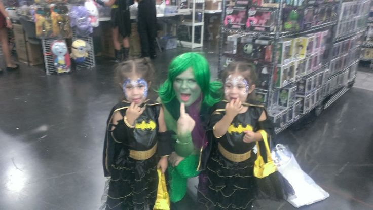 Disgust Inside Out Costume Halloween Cosplay Comic Con Girl Batman