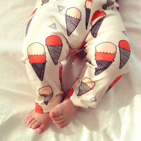 baby girl gift, baby girl present, baby girl clothes, stylish baby leggings, modern baby clothes, modern baby, organic baby leggings, cones