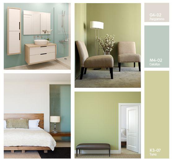 Si un color te gusta puedes aplicarlo en cualquier lugar - Catalogo de colores para paredes ...