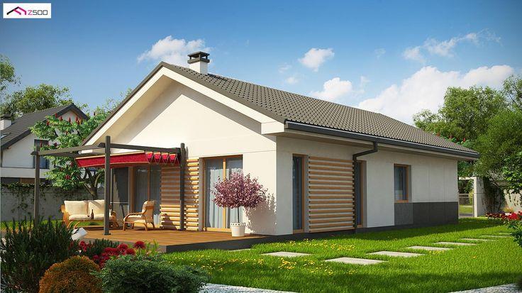 Z329 to wyjątkowy dom z kategorii projekty domów parterowych