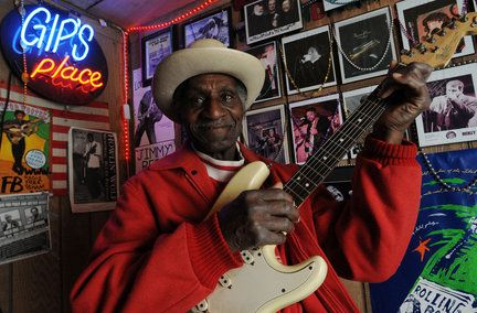 """Gip's Place"" 3101 Avenue C Bessemer Alabama. An honest to goodness blues Juke Joint from what I hear the last one left in Alabama"