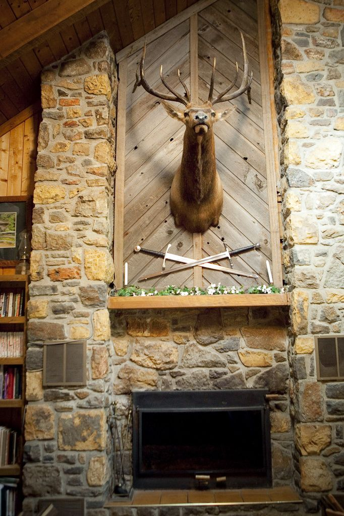 Cozy Rustic Fireplace At The Willis Family Home You Gotta