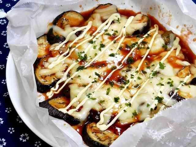 博多屋台の味★簡単★なすのチーズ焼き!の画像
