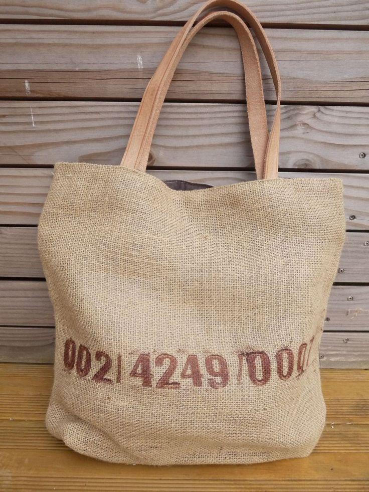les 25 meilleures id es de la cat gorie sacs de caf en toile de jute sur pinterest. Black Bedroom Furniture Sets. Home Design Ideas