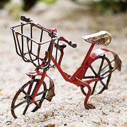 Fairy Garden Supplies. Fairy Garden Miniature Red Bicycle. $7.99