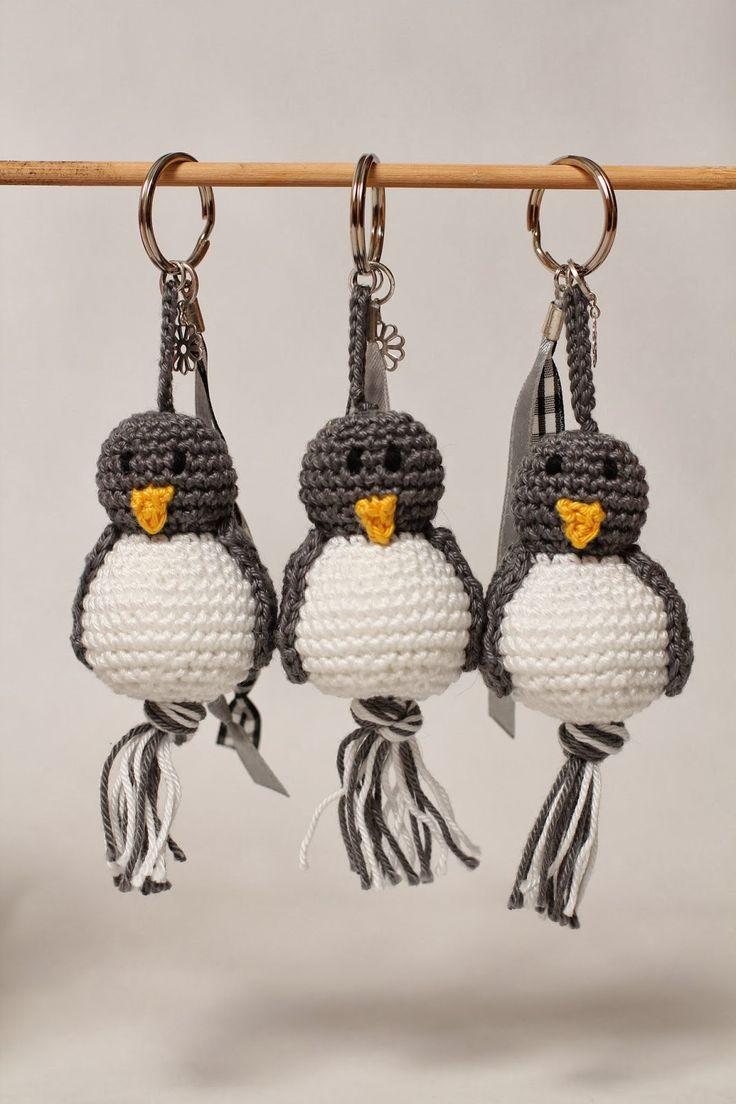 Pinguïn sleutelhanger inspiratie