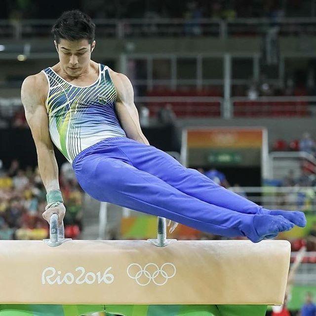 A olimpíada nem terminou e já temos o muso de 2016: O ginasta Arthur Nory…