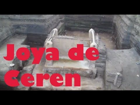 "Joya de Ceren ""Mayan City"" El Salvador where I was lucky enough to work with locals and studying the plantas medicinals <3"