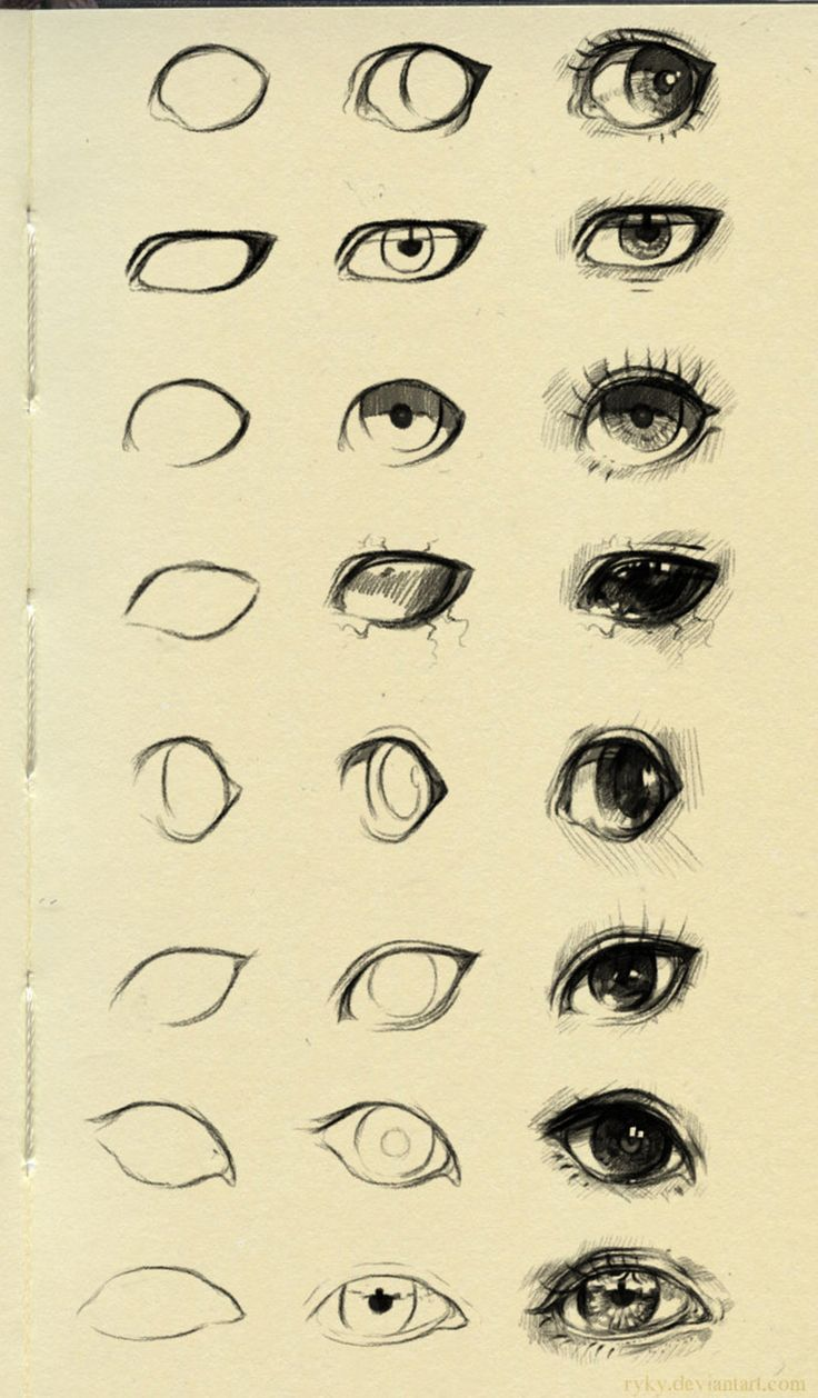eyes reference 3 by ryky on @DeviantArt